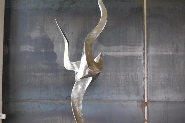 Skulptur, Edelstahl, sculpture steinless steel