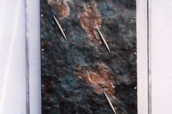 Remo Leghissa - Metallbild, Eisen/Kupfer/Edelstahl