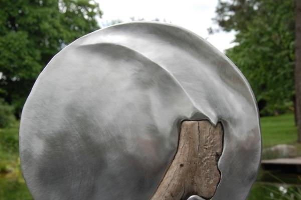 Remo Leghissa, Skulpture für den Wohnbereich - Mond im Wald