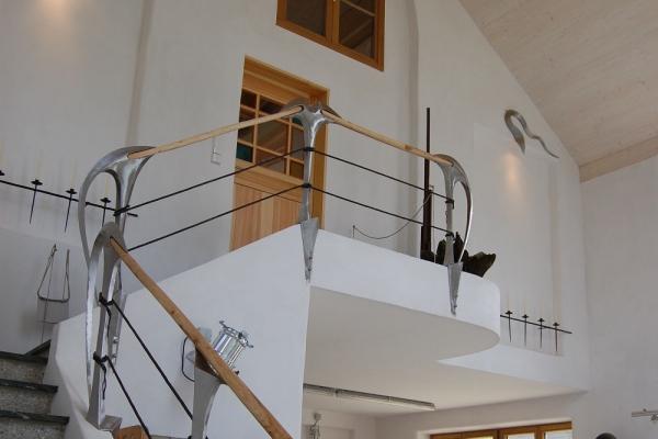 Remo Leghissa - Treppenaufgang Einstieg