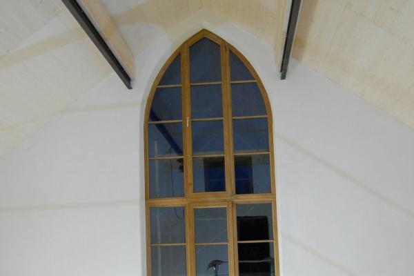 Remo Leghissa - Gotischer Bogen von Innen