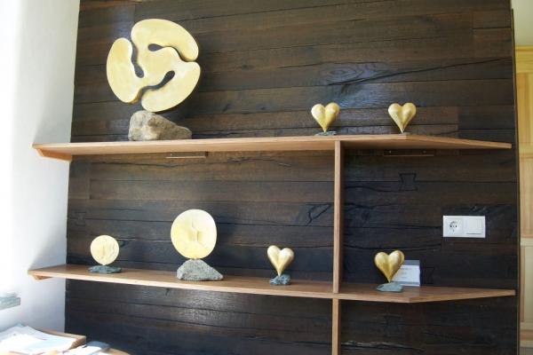 Remo Leghissa - Werkstattbuero mit Kleinskulpturen